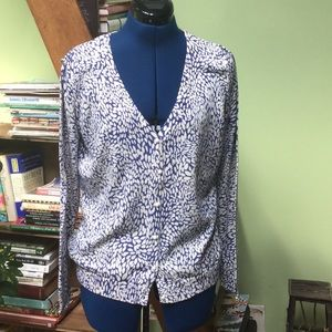 Faux Pearl Button Down Cardigan 194-1